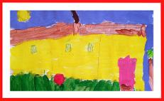 child house painting